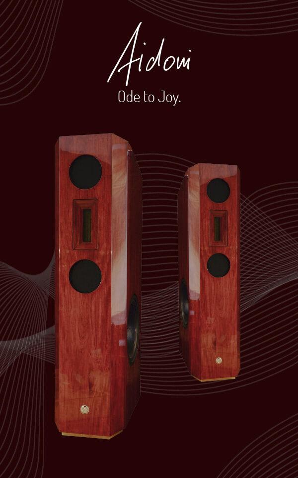 Aidoni - der hocklassige Lautsprecher der Extraklasse