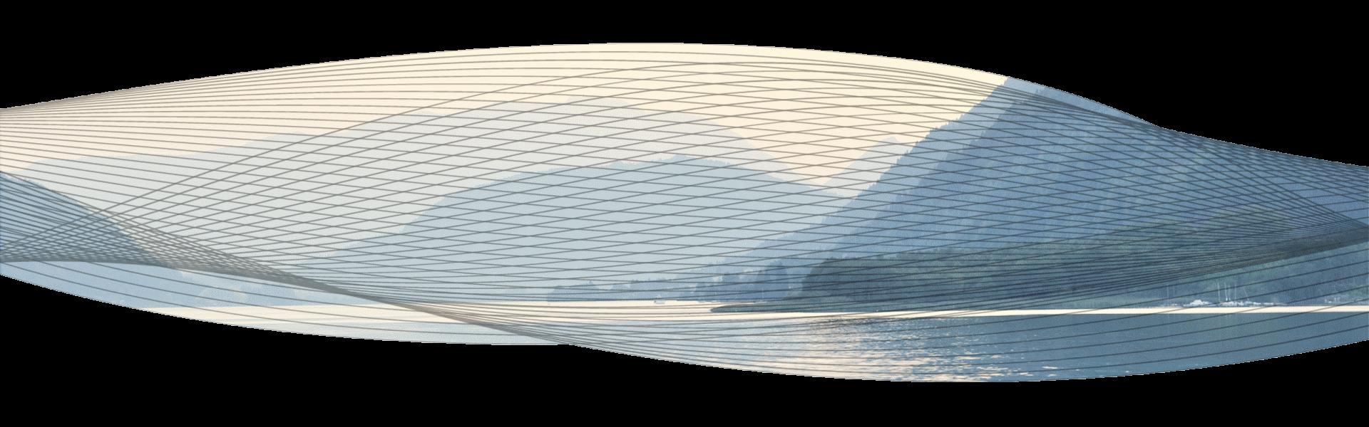 SoundSpaceSystems - 2. Welle mit Wellenlinien vor weitem See